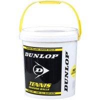 Dunlop Training - drucklos 60er + Eimer gelb,weiß