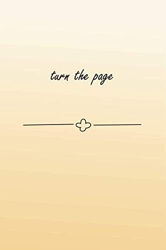 turn the page: Blank Cookbook .100 pages. 6