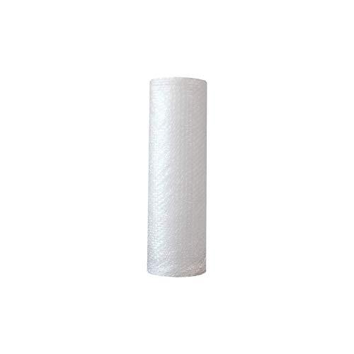 ZS PACK - Rollo de Plastico de Burbujas Para Embalar de 50 cm de Ancho x 10 Metros Largo - 5 m2 de Papel Burbujas Transparente [Triple Capa & Burbuja Densa - 1cm]