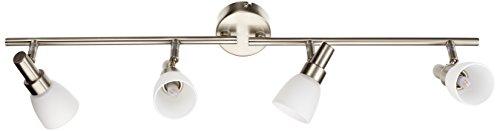 OSRAM - Applique Plafonnier LED - 4 Spots orientables - 4 Ampoules G9 2W Equivalent 20W Incluse - Blanc Chaud 2700K