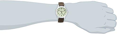 『[シチズン キューアンドキュー]CITIZEN Q&Q 腕時計 ウォッチ ミリタリー 5気圧防水 キャンバスベルト カーキ メンズ レディース キッズ』の3枚目の画像