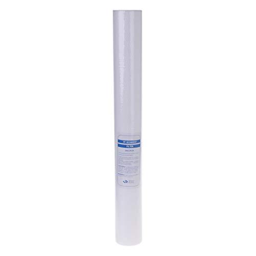 WT-DDJJK Malla del dispensador de Agua, reemplazo del sedimento de la Base del colador del Cartucho de Filtro de PP del purificador de Agua de 20'