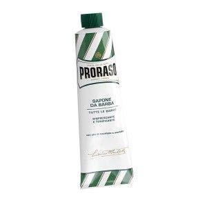 6x Proraso Rasierseife Tube seife shaving soap Eukalyptusöl und Menthol 150ml