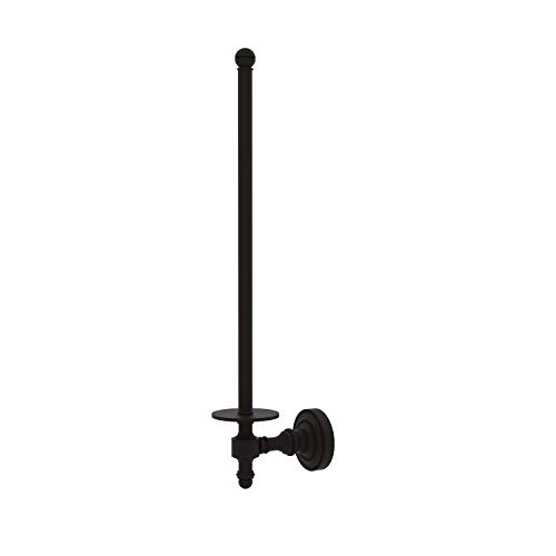 Allied Brass RD-24U/12-ORB Retro Dot Collection Wall Mounted Paper Towel Holder, Oil Rubbed Bronze