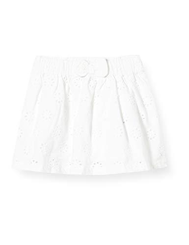 Chicco Baby-Mädchen Gonna Rock, Weiß (Bianco 033), 80 (Herstellergröße: 080)