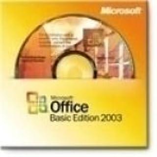 Office Basic Edition 2003 w/ SP1 OEM
