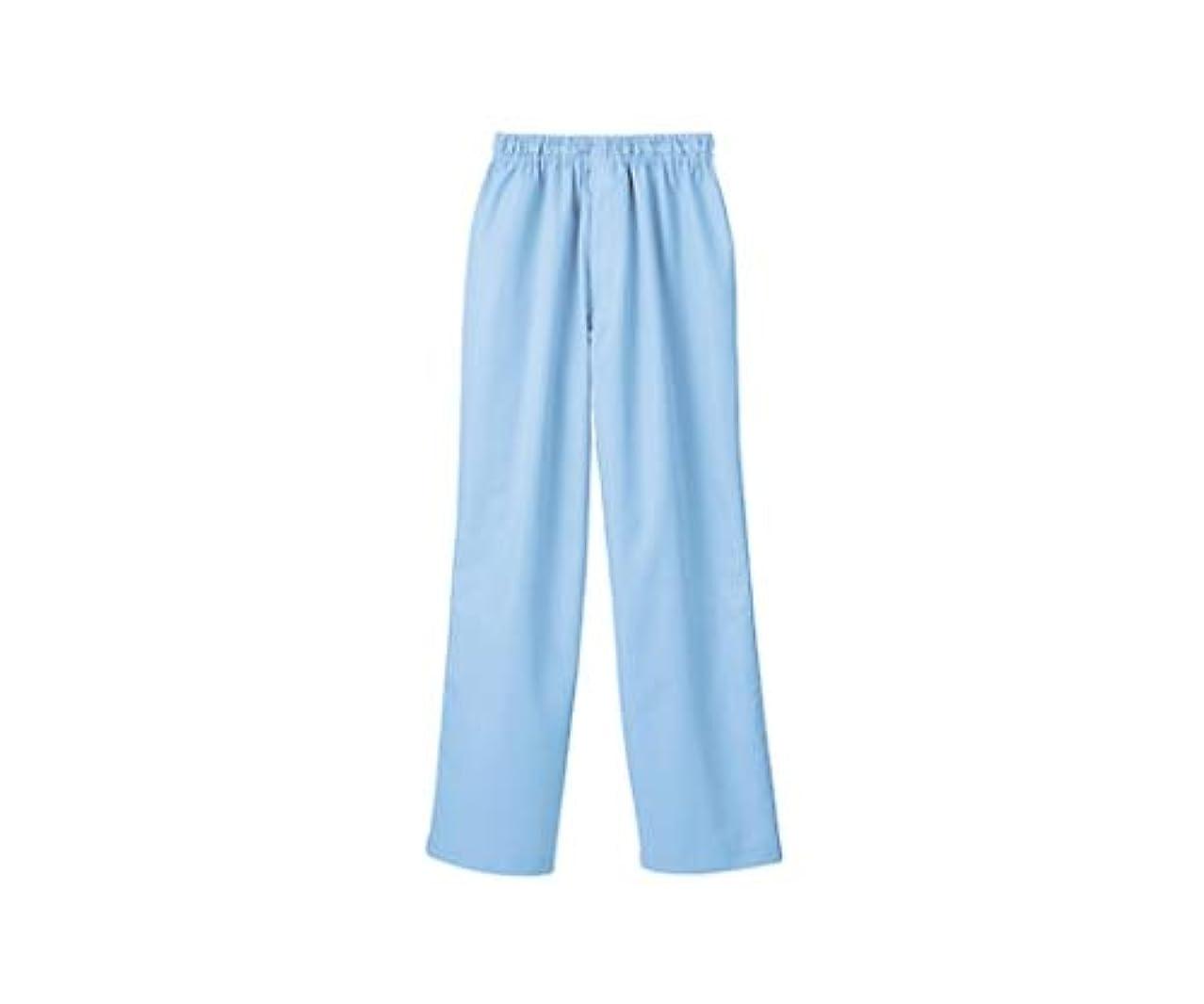 エイリアンランドマーク宇宙飛行士パンツ 男女兼用 ブルー 裾インナー付/61-6155-26