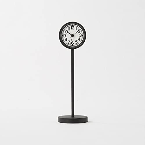 無印良品 公園の時計・ミニ ブラック MJ-PCMB2 44275757 幅55×奥行55×高さ182mm