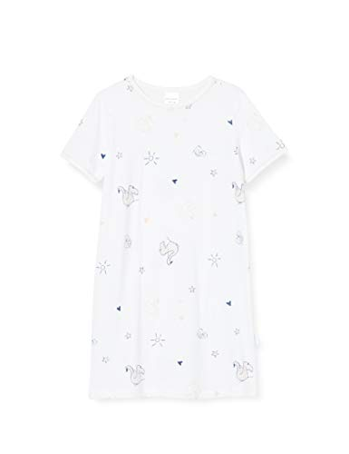 Schiesser Mädchen 1/2 Nachthemd, Weiß (Weiss 100), (Herstellergröße: 116)