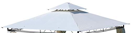 ASS Dachplane für Gartenpavillon 3x3m wasserfest für Modell: 7075 - kein Umtausch oder Rückgaberecht von