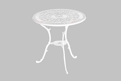 MERXX Gartentisch Perugia, Ø 70 cm, Farbe zur Wahl graphit