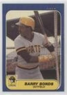 Barry Bonds (Baseball Card) 1986 Fleer Update - Factory Set [Base] #U-14