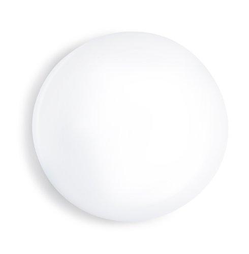 Steinel 003791 LED-binnensensorlamp RS LED A1, bewegingsmelder met sensortechniek, onzichtbare sensor, IP44, opaalglas, 12W