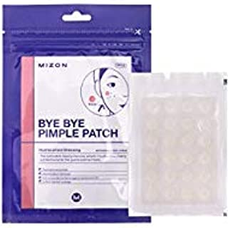 Mizon Bye Bye Pimple Patch for Acne Treatment Absorbing Cover, Transparent Blemish Spot, Hydrocolloid Facial Stickers, Acne Pimple Healing Patch, One Size (120 Patches, 5Pack x24ea)