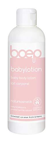 boep Bodylotion für Babys & Kinder – Naturkosmetik Körperlotion mit Bio-Olivenöl – Entwickelt von einer Ärztin und Mama (200 ml)