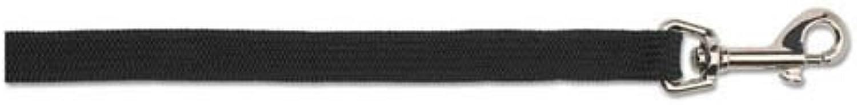 Heritage Nylon Softweave Lead Black 1m X19mm Sz 34