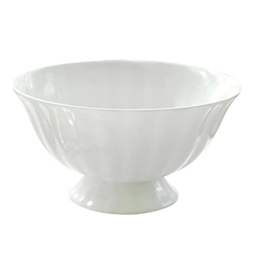 Cabilock Cuencos para Ensaladas Cuencos para Servir Porcelana Cuencos para Pasta Elegantes...
