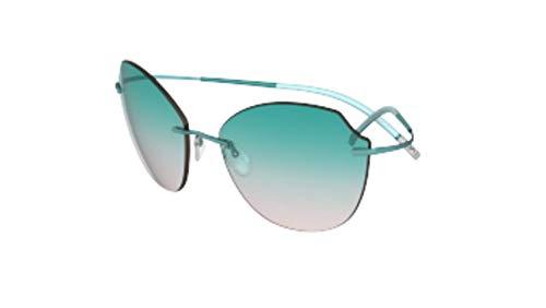 Silhouette Gafas de Sol TMA ICON 8158 Aqua Green/Aqua Green Shaded talla única mujer