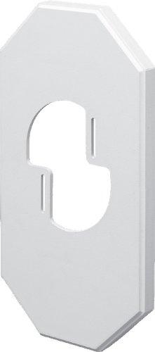 Arlington Industries 8100LP-1 8100LP Wall Plates, MEGA, White