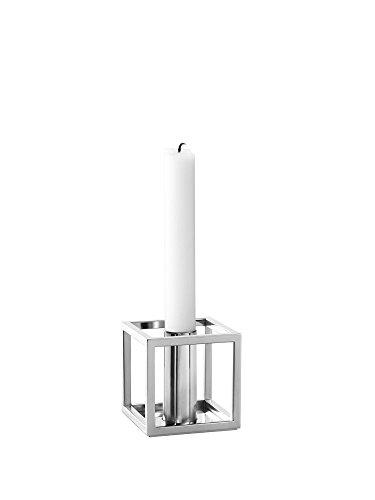 By Lassen - Kerzenleuchter - Kubus 1 - Silber - Nickel