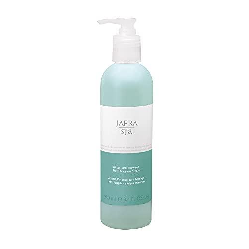 Jafra SPA - Crema de masaje corporal de jengibre y algas, 250 ml
