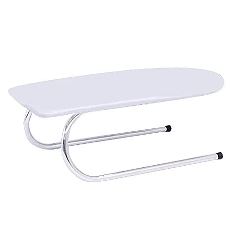Siuber Tablero de Planchado de Mesa, Esencial para el hogar Manga básica Mini Plancería, diseño de Pierna Plegable en Forma de U, fácil de Usar - para Coser Sala de Manualidades Dorm