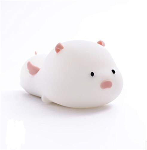 Deckenleuchte Moderne Chic Schlafzimmer Küche Flur Lampe Ultradünnedysty Pig Silicone Small Night Light Colorful Led Sleeping Light Usb Charging Small Night Light Beat Pig