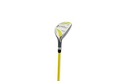 US kids Golf UL 42 4 Hybrid de Golf, Unisex niños, Amarillo, 102-110 cm