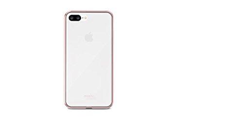Moshi Vitros funda para teléfono móvil 14 cm (5.5') Funda blanda Rosa, Transparente - Fundas para teléfonos móviles (Funda blanda, Apple, iPhone 8 Plus iPhone 7 Plus, 14 cm (5.5'), Rosa, Transparente)