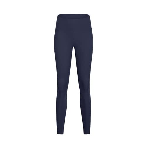 QTJY Leggings Deportivos Deportivos Desnudos Suaves, Leggings Deportivos para Mujer, Pantalones de Yoga de Cintura Alta, Mallas de Yoga con Control del Vientre BL