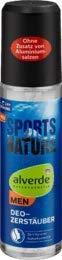 alverde NATURKOSMETIK Sports Nature Deo Zerstäuber, 1 x 75 ml