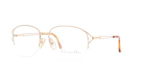 Christian Dior Damen Brillengestell Gold gold
