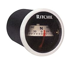 Ritchie X-21Bb Ritchiesport Compass Dash Mount Black//Black