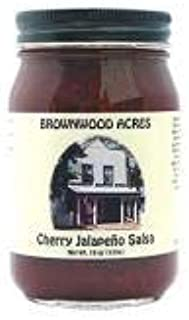 Cherry Jalapeno Salsa by Brownwood Acres (Jalapeño) - Handcrafted in Michigan's Cherry Capital