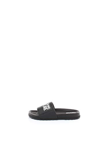 Versace Jeans Couture Mujer Chancla Nero 36 EU