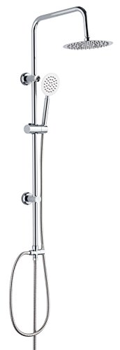 DP Bath Granate - Set de douche en acier inoxydable