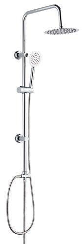 DP Grifería, modelo Granate - Set de ducha de acero inoxidable