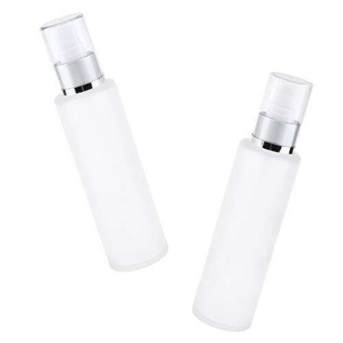 Sharplace 2pcs Flacon Vide Pompe en Verre Atomiseur Spray à Lotion Pulvérisateur Atomiseur Spray à Lotion Liquide et Eau - Tête de pulvérisation de brume 120ML