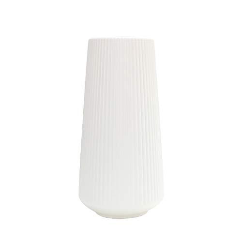 gszfsm001 - Jarrón de plástico decorativo nórdico de plástico origami de imitación de cerámica para maceta de flores o botella, diseño sencillo