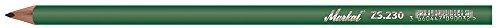 Markal 44092230 ZS.230 - Lápices de albañil, 30 cm, grafito, pack de 12