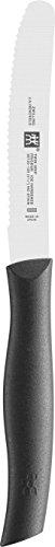 Zwilling 38725120 Twin Grip Universalmesser, Friodur Klinge, 120 mm, schwarz
