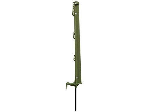 Chapron Lemenager Piquet Plastique 0,70 M Vert - 4 iso - Système Blocfil - Lot de 10