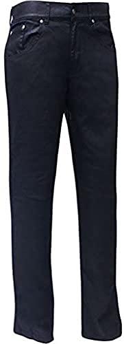 Bull-it Damen SR6 Öl Folie Motorrad Covec Jeans - Schwarz Lang - Schwarz, W10