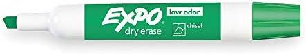 Case of 12 dozens Expo Low Odor Manufacturer OFFicial shop Markers Gr Chisel Erase Dry Tip Max 72% OFF