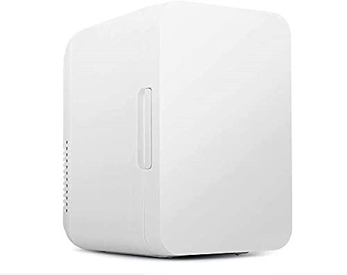 Refrigeradores Portátiles 8L Mini Refrigerador con Función De Refrigeración Y Calefacción Pequeño Minibar De Camping 12V / 220V para Almacenar Leche Materna, Cuidado De La Piel Y Congelador