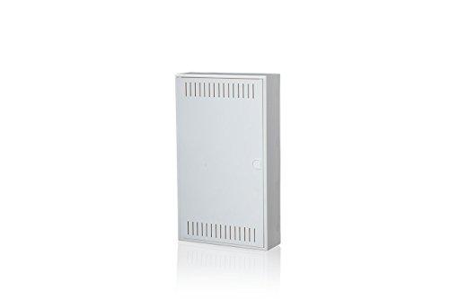f-tronic Kommunikationsverteiler Vision K, Aufputz, 3-reihig, Montageplatte, APV36K
