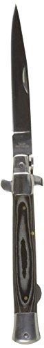 Haller Taschenmesser Stiletto Micarta Messer, schwarz, One Size
