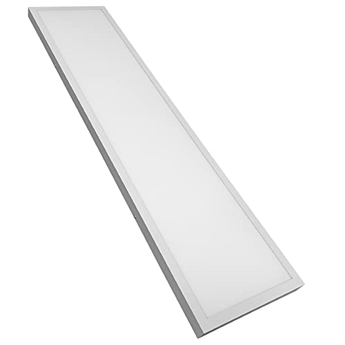 Panel LED Superficie 120x30 cm. 48w. Color Blanco Frio (6500K). 4400 lumenes. Driver incluido.