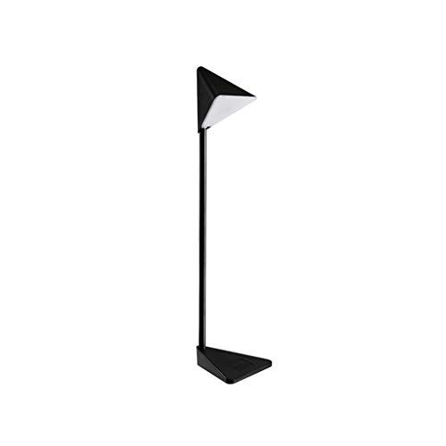 Lampe de bureau tête de lampe triangulaire LED Eye Caring Lampe de table Salon Chambre à coucher Bureau Bureau Lampes de lecture Commutateur inductif (Couleur : A)