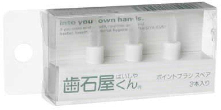 購入ラウンジ制限歯石屋くん スペアポイントブラシセット(3本)